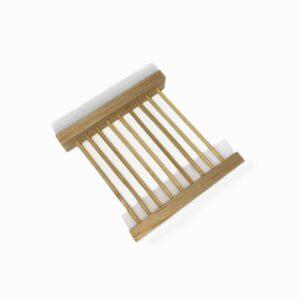 Jabonera de madera reja