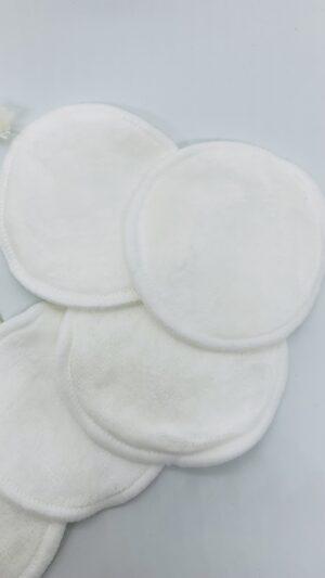 Pads desmaquillantes de algodón de bambú