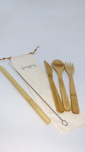 Set de cubiertos de Bambú